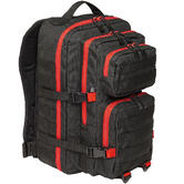 Brandit US Cooper Rucksack Large 2-Colour Black / Red