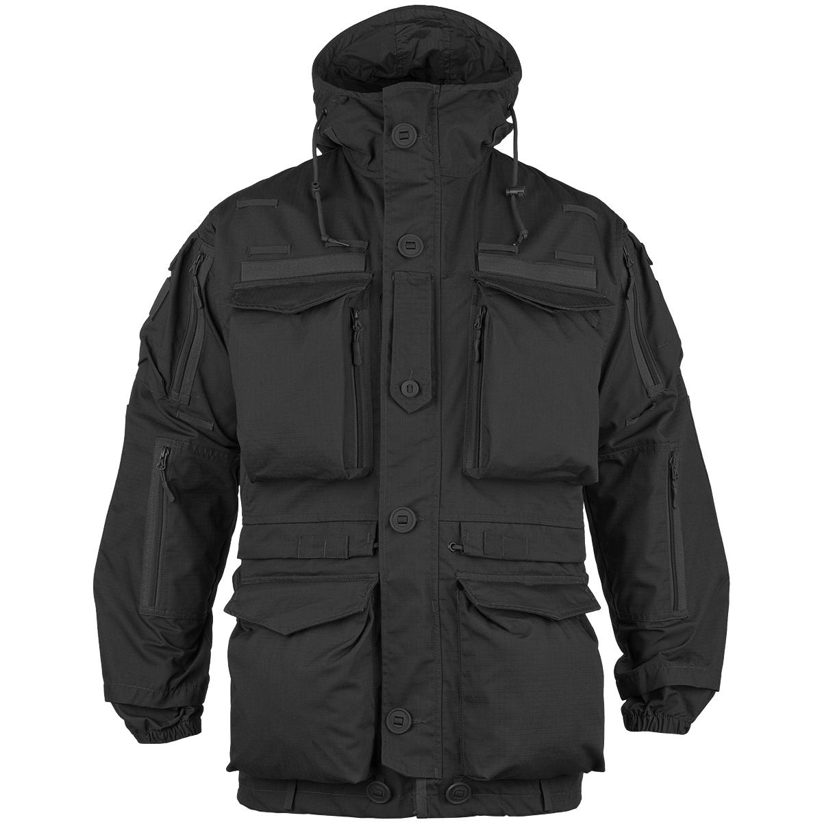 Teesar Tactical Smock Generation II Military Mens Jacket Army Hooded Coat Black | EBay