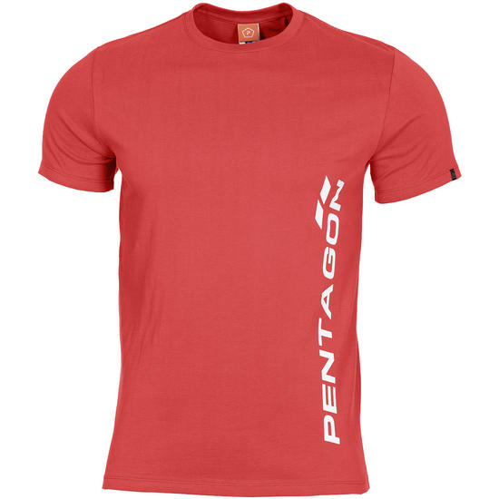 Pentagon Ageron T-Shirt Pentagon Vertical Lava Red