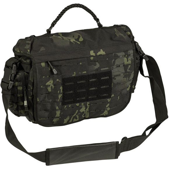 Mil tec tactical paracord bag small dark coyote shoulder for How to make a paracord bag