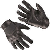 Mil-Tec Tactical Gloves Leather / Kevlar Black