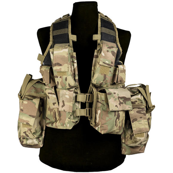 Mil-Tec South African Assault Vest Multitarn