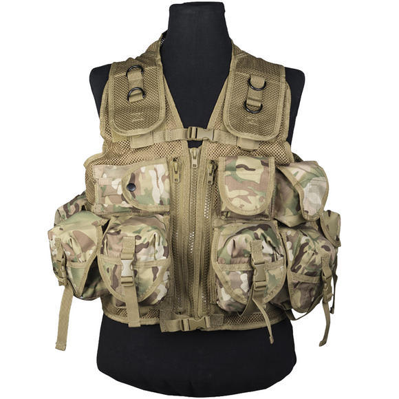 Mil-Tec Ultimate Assault Vest Multitarn