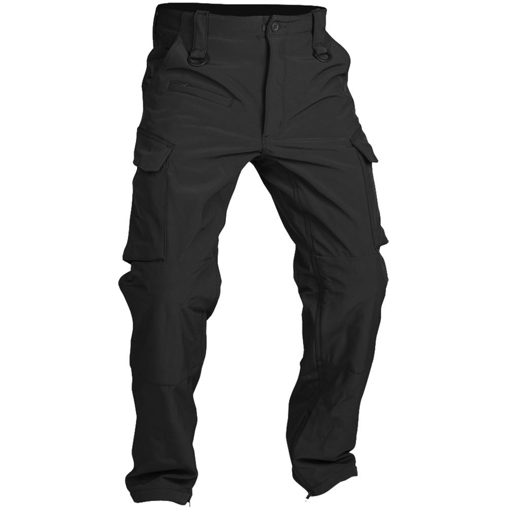 Mil-Tec Explorer Soft Shell Pants Black | Black
