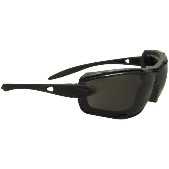 vSwiss Eye Detection Sunglasses - Smoke + Clear Lenses / Rubber Black Frame