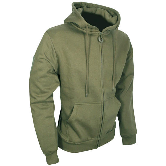 Viper Tactical Hoodie Zipped Green