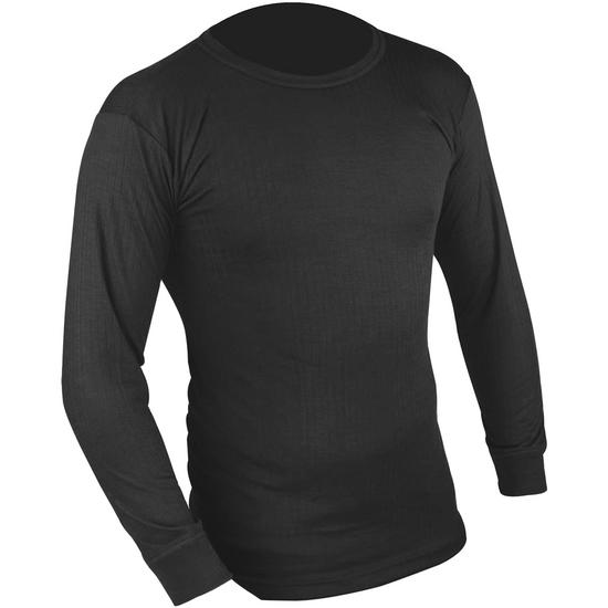 Highlander Thermal Vest Long Sleeve Black