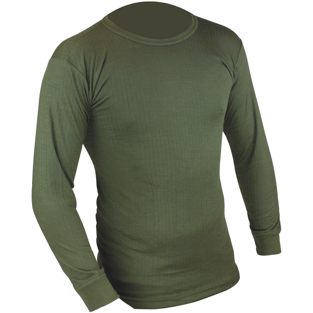 Highlander Thermal Vest Mens Long Sleeve Base Layer Top