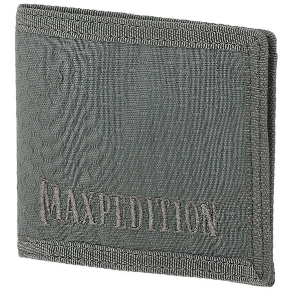 Maxpedition Bi Fold Wallet Grey