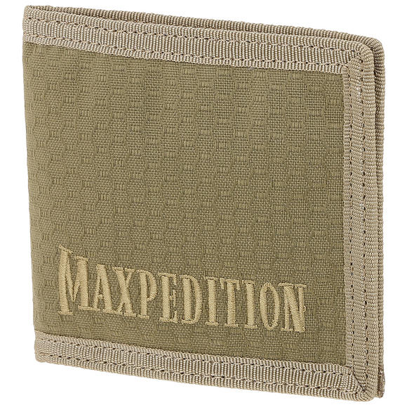 Maxpedition Bi Fold Wallet Tan