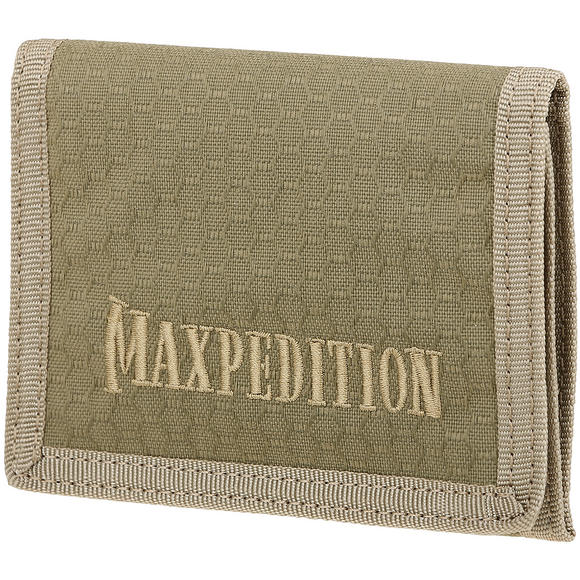 Maxpedition Tri Fold Wallet Tan