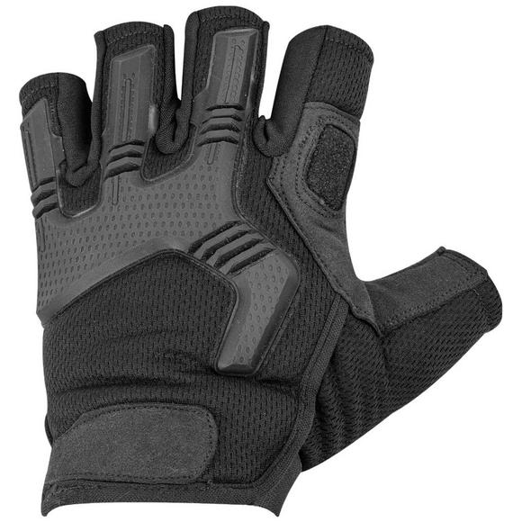 Highlander Raptor Fingerless Gloves Black
