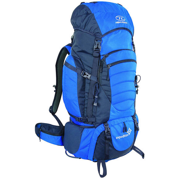 Highlander Expedition 65 Rucksack Blue