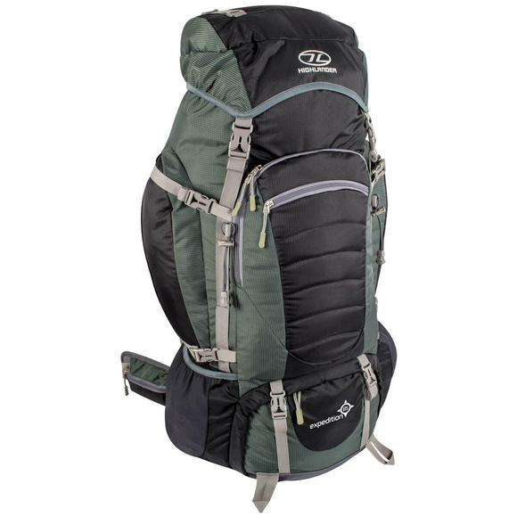 Highlander Expedition 85 Rucksack Black