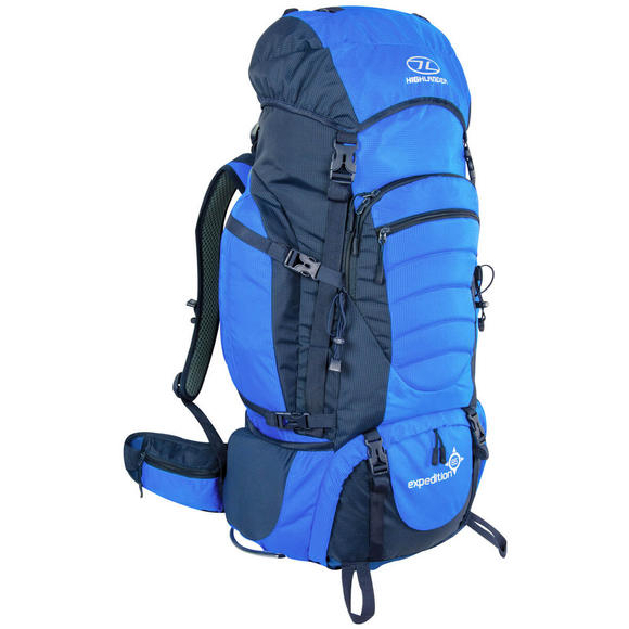 Highlander Expedition 85 Rucksack Blue