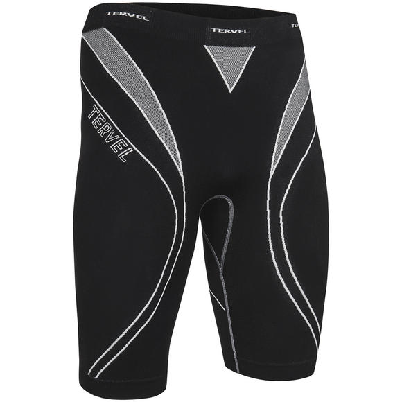 Tervel Optiline Running Shorts Black / Light Grey