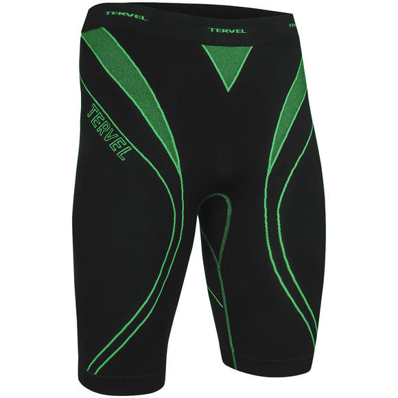 Tervel Optiline Running Shorts Black / Green