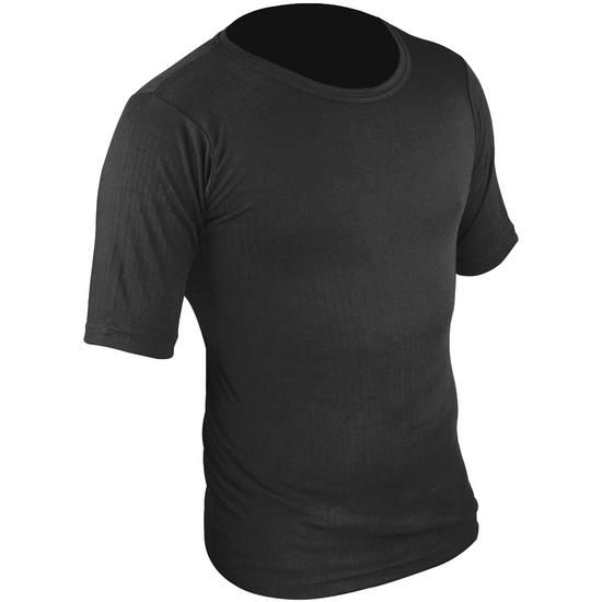 Highlander Thermal Vest Short Sleeve Black