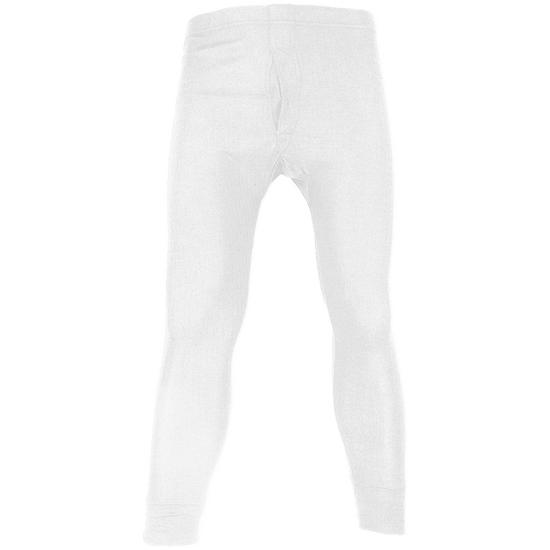 Highlander Thermal Long Johns White