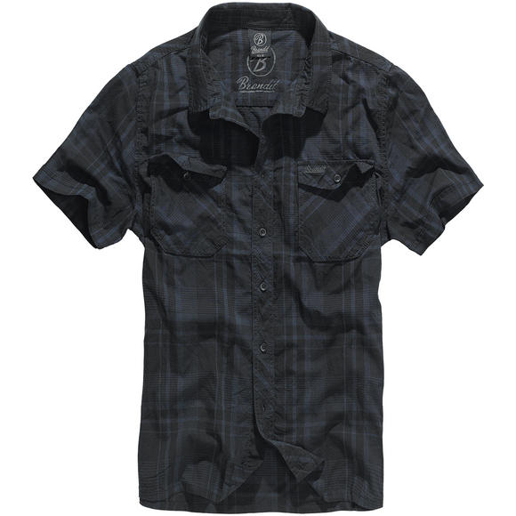 Brandit Roadstar Shirt Black / Blue