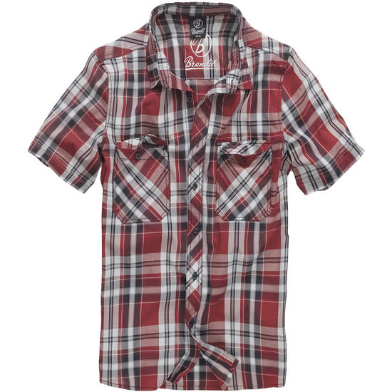 Brandit Roadstar Shirt Red