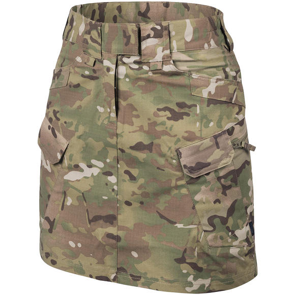 Helikon Women's Urban Tactical Skirt Ripstop Camogrom