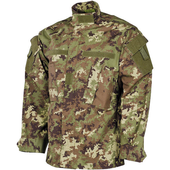MFH ACU Ripstop Field Jacket Vegetato Woodland