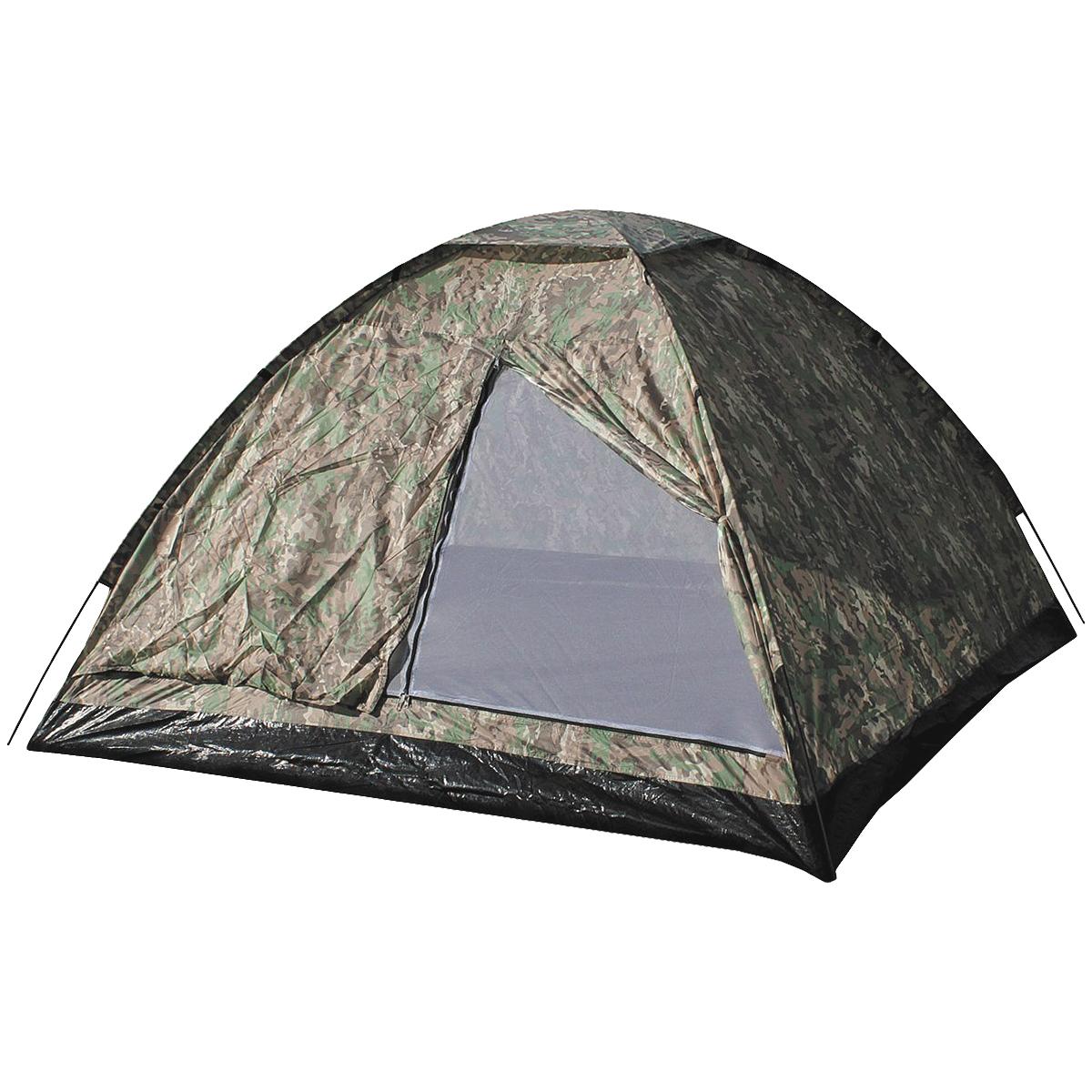 MFH 3 Person Tent Monodom with Mosquito Net Operation Camo ...  sc 1 st  Military 1st & Camping u0026 Festival Tents Highlander Tents Bivi Bag u0026 Bashas UK ...