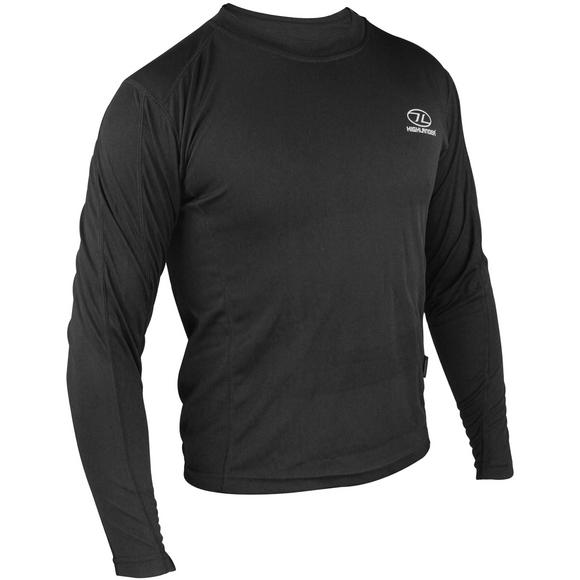 Highlander ClimateX 160 Long Sleeve T-Shirt Black