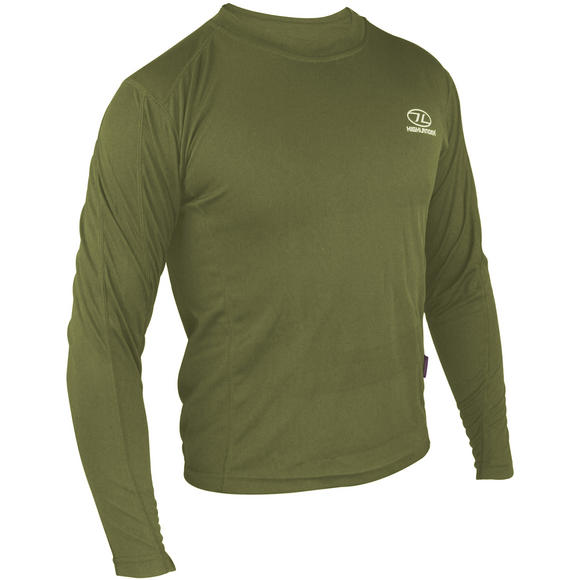 Highlander ClimateX 160 Long Sleeve T-Shirt Olive