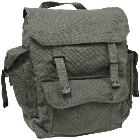 Highlander Large Pocketed Web Backpack Olive