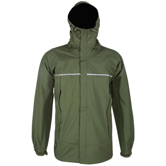 Highlander Typhoon 3 Layer Mountain Jacket Olive