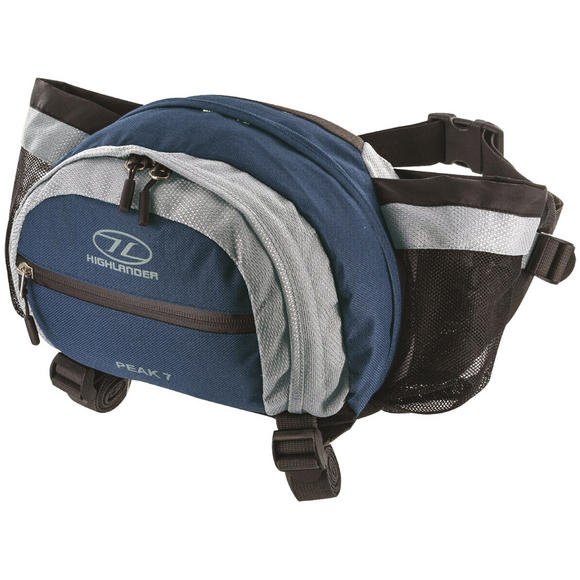 Highlander Peak 7 Waist Pouch Navy Blue