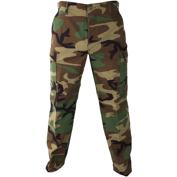 Propper Uniform BDU Trousers Polycotton Ripstop Woodland