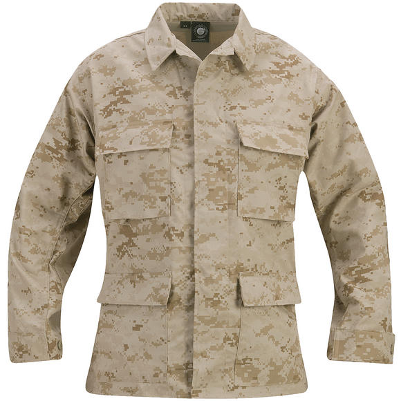 Propper Uniform BDU Coat Polycotton Ripstop Digital Desert