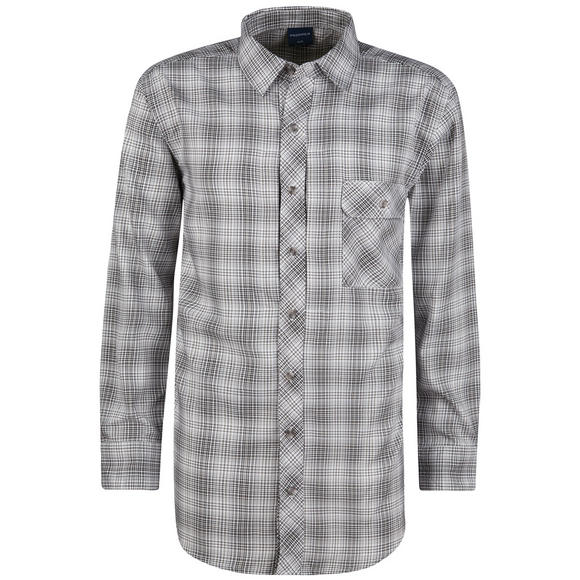 Propper Covert Button-Up Long Sleeve Steel Grey Plaid