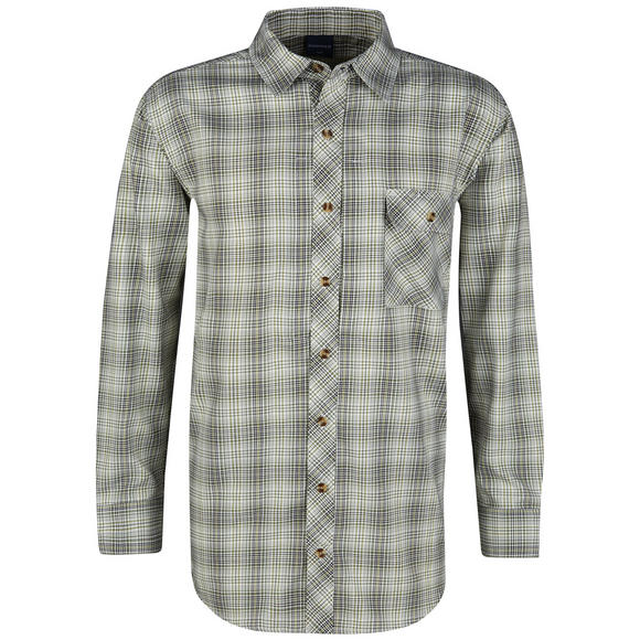 Propper Covert Button-Up Long Sleeve Loden Green Plaid