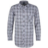Propper Covert Button-Up Long Sleeve Ocean Blue Plaid