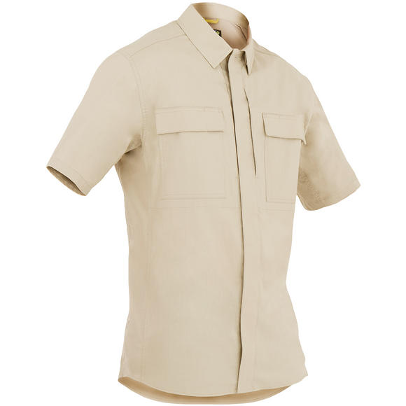 First Tactical Men's Tactix Short Sleeve BDU Shirt Khaki