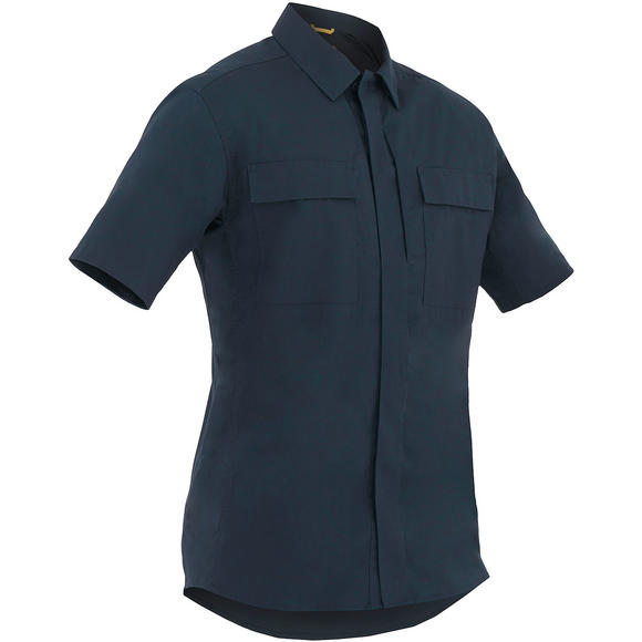 First Tactical Men's Tactix Short Sleeve BDU Shirt Midnight Navy