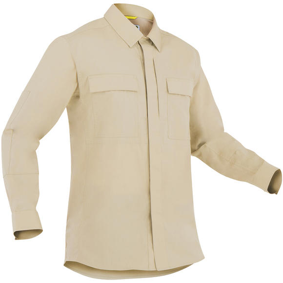 First Tactical Men's Specialist Long Sleeve BDU Shirt Khaki