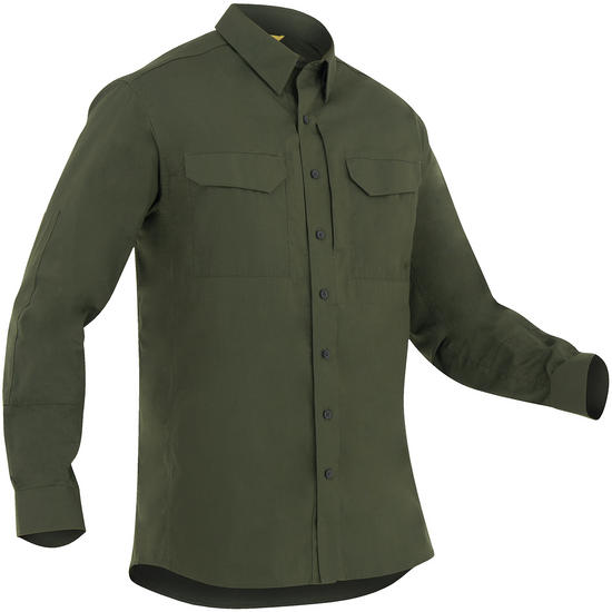 First Tactical Men's Specialist Long Sleeve Tactical Shirt OD Green