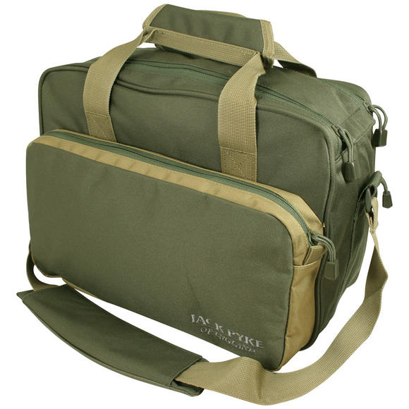 Jack Pyke Sporting Shoulder Bag Green/Tan