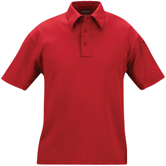 Propper I.C.E. Men's Performance Short Sleeve Polo Red