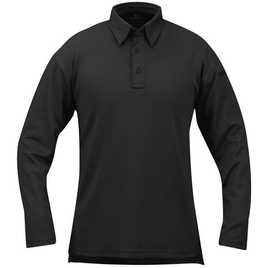 Propper I.C.E. Men's Performance Long Sleeve Polo Black