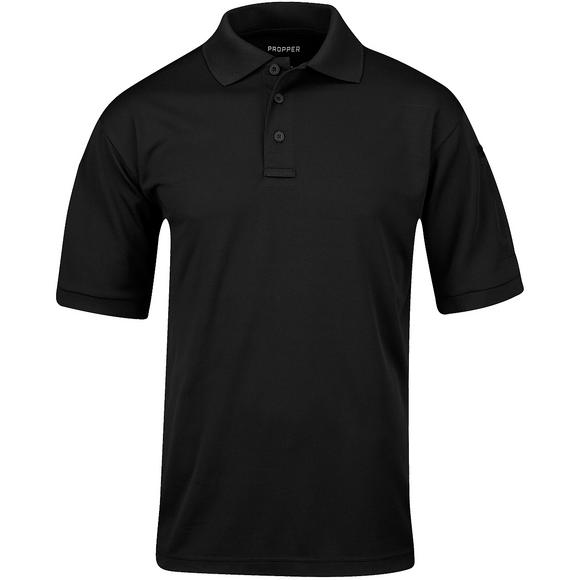 Propper Men's Uniform Short Sleeve Polo Black