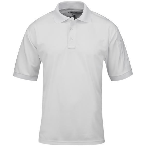 Propper Men's Uniform Short Sleeve Polo White