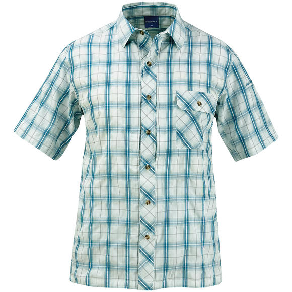 Propper Covert Button-Up Short Sleeve Shirt Mallard Plaid