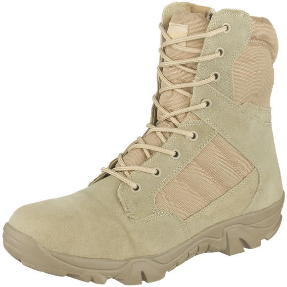 Mil-Com Recon Side Zip Boots Desert