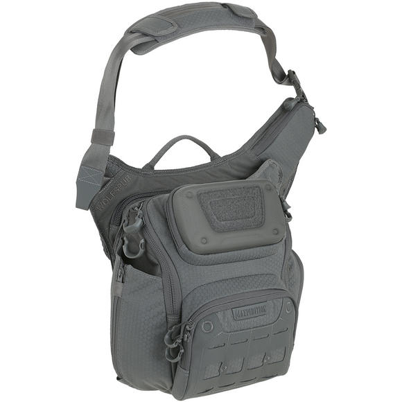 Maxpedition Wolfspur Crossbody Shoulder Bag Gray